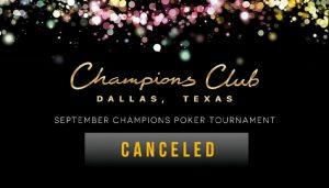 Champions Club Membatalkan Turnamen Poker senilai $2 Juta