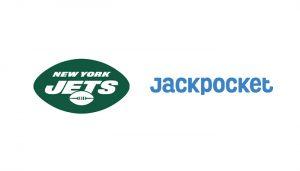 Logo New York Jets dan Jackpocket
